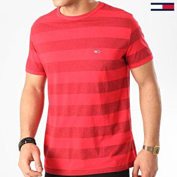 Tee Shirt A Rayures Bold Stripe 7810 Rouge