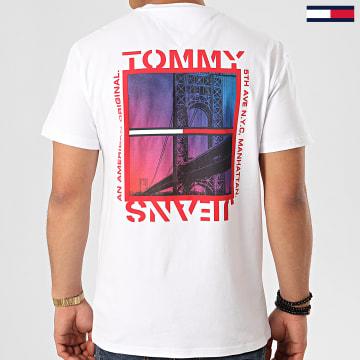 Tee Shirt Back Photo 7855 Blanc