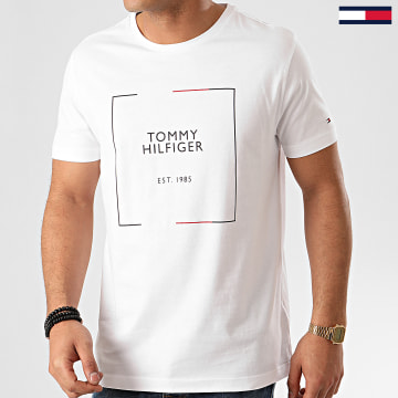 Tee Shirt RWB Box Outline 3329 Blanc