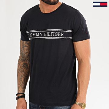 Tee Shirt Rope Stripe 3333 Bleu Marine