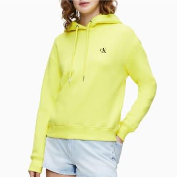 Calvin Klein - Sweat Capuche Femme 3178 Jaune