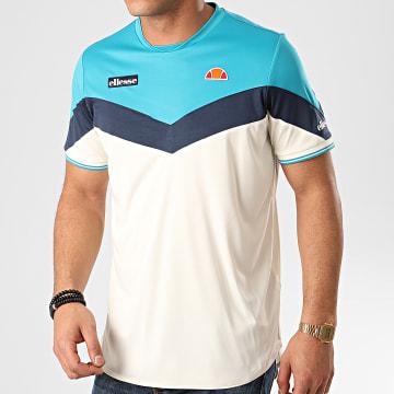 Tee Shirt Oversize Cobra SEE08664 Blanc Cassé Bleu