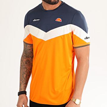 Tee Shirt Oversize Cobra SEE08664 Orange Bleu Marine