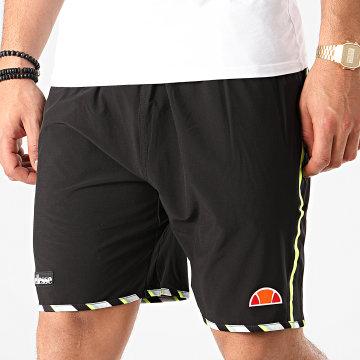 Short Jogging A Bandes Lonalta SEE08705 Noir