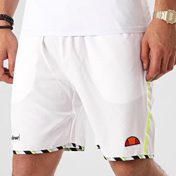 Short Jogging A Bandes Lonalta SEE08705 Blanc