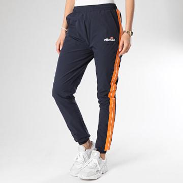 Pantalon Jogging Femme A Bandes Rosalla SGE08450 Bleu Marine