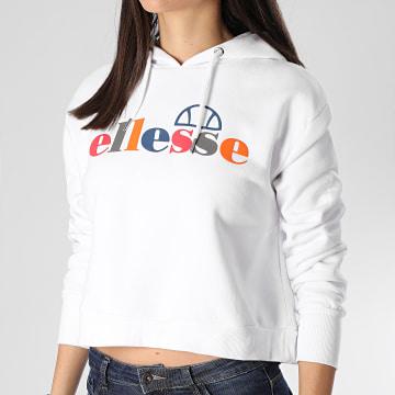 Ellesse - Sweat Capuche Femme Gaetana SGE08458 Blanc