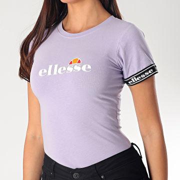 Body Tee Shirt Femme Flarino SGE08851 Violet