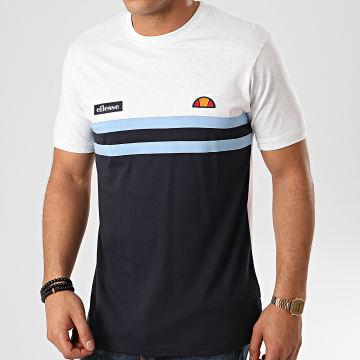 Tee Shirt Venire SHE08507 Gris Chiné Bleu Marine