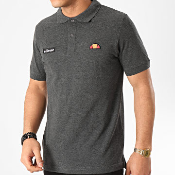 Polo Manches Courtes Montura SHS04475 Gris Anthracite Chiné