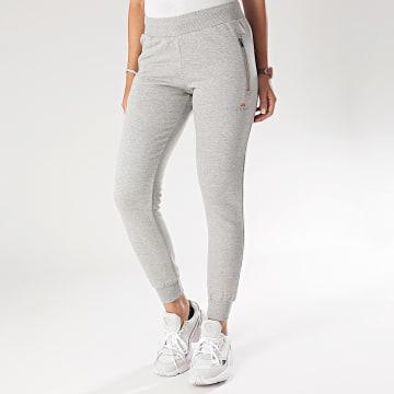 Pantalon Jogging Femme Ridotti SRE08355 Gris Chiné