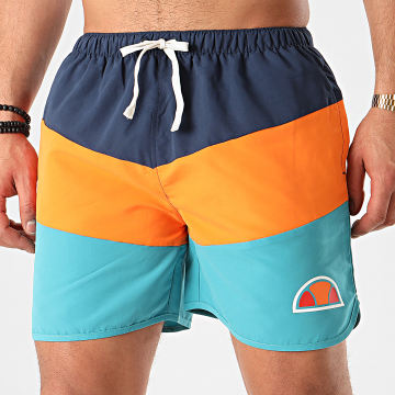Short De Bain Tricolore Diablo SXE08660 Bleu Orange