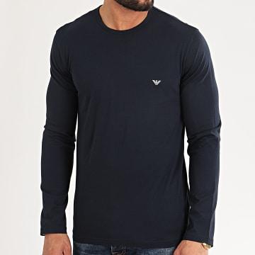 Emporio Armani - Tee Shirt Manches Longues 111653-0P722 Bleu Marine