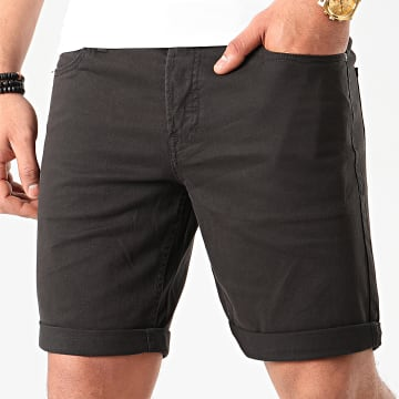 Jack And Jones - Short En Jean Rick Original Noir