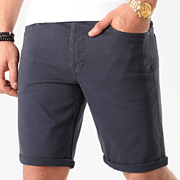 Jack And Jones - Short En Jean Rick Original Bleu Marine