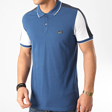 Jack And Jones - Polo Manches Courtes Lil Bleu Marine