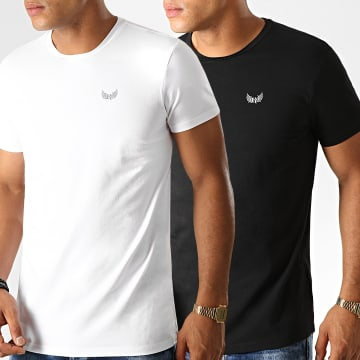 Lot De 2 Tee Shirts Rift Noir Blanc