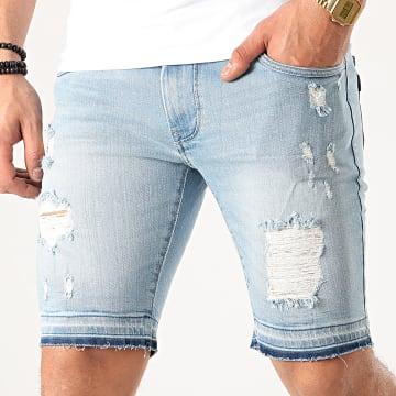 Short Jean Super Slim Tandil Bleu Wash