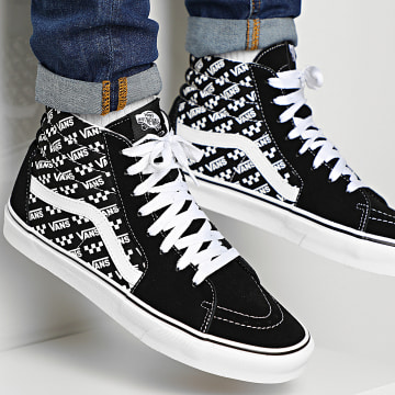 Vans - Baskets Sk8-Hi Logo Repeat U3CTEZ Black True White