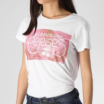 Tee Shirt Moorea Femme Blanc