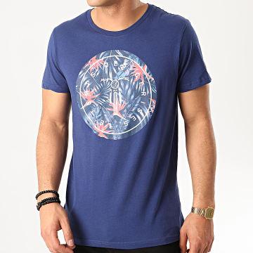 Le Temps Des Cerises - Tee Shirt Stanley Bleu Marine