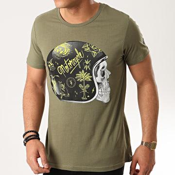 Tee Shirt Lizard Vert Kaki
