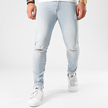 Tiffosi - Jean Skinny Destroy Harry Bleu Denim