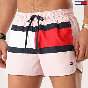 Tommy Hilfiger - Short De Bain Runner 1703 Rose Clair