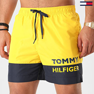 Tommy Hilfiger - Short De Bain Medium Drawstring 1682 Jaune