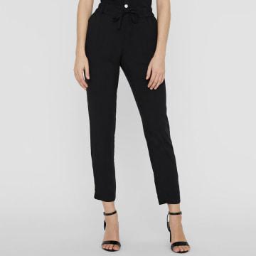 Vero Moda - Pantalon Femme Simply Easy Noir