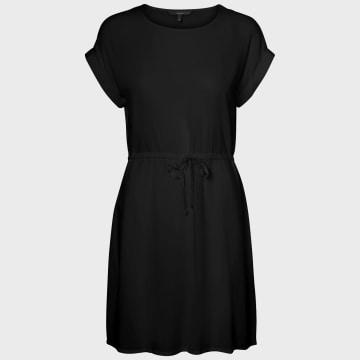Vero Moda - Robe Femme Simply Easy Noir