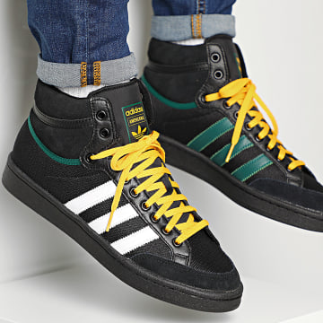 Baskets Americana Hi EG5783 Core Black Green Active Gold