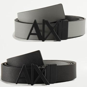 Armani Exchange - Ceinture Réversible 951017-CC505 Gris Noir