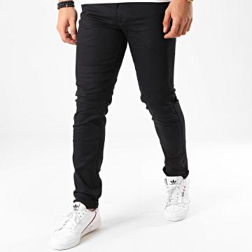 Black Needle - Pantalon Chino BN-1013 Bleu Marine