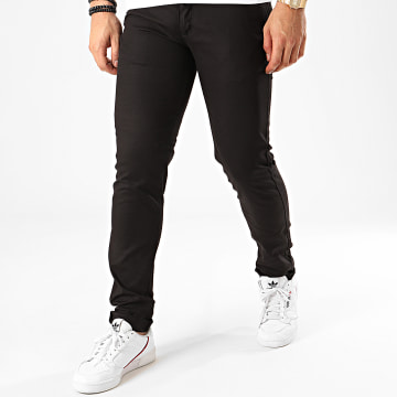 Black Needle - Pantalon Chino BN-1013-1 Noir