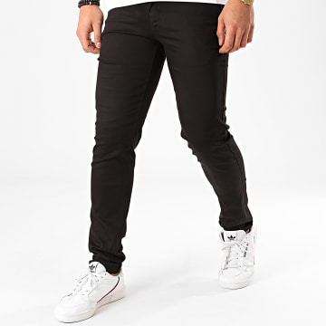 Black Needle - Pantalon Chino BN-1013 Noir