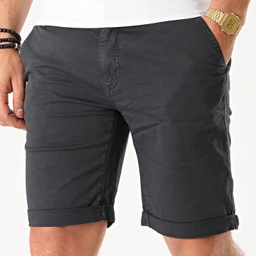 Blend - Short Chino 20710117 Gris Anthracite