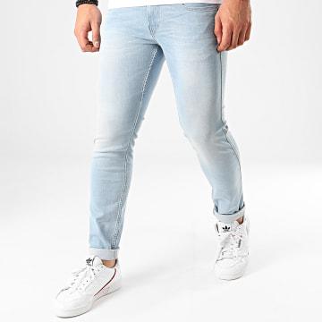 Pantalon A Carreaux 1707 Blanc Noir