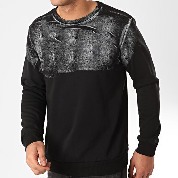 Frilivin - Sweat Crewneck 6233 Noir