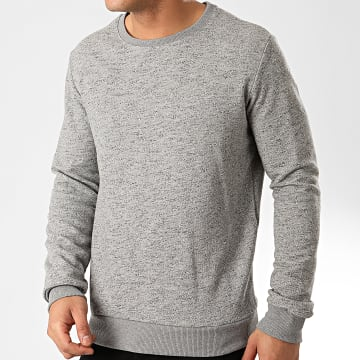 Frilivin - Sweat Crewneck 92372 Gris Chiné