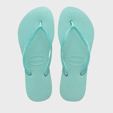 Havaianas - Tongs Femme Slim Turquoise