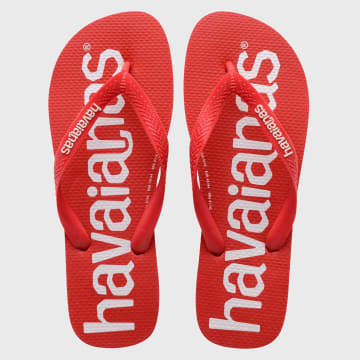 Havaianas - Tongs Top Logo Mania Rouge