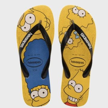 Havaianas - Tongs Simpsons Jaune