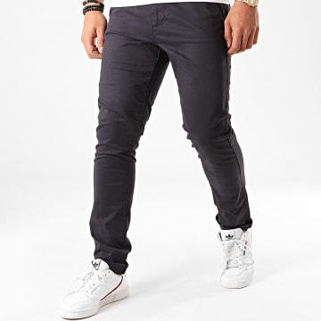 Indicode Jeans - Pantalon Chino Nelson Bleu Marine