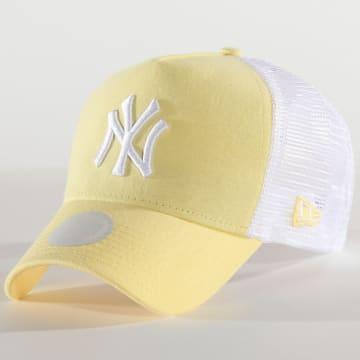 Casquette Trucker Femme Jersey Essential 12285208 New York Yankees Jaune