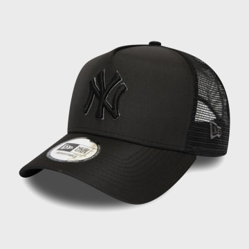 New Era - Casquette Trucker Tonal Black 12285234 New York Yankees Noir