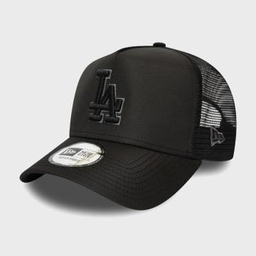 New Era - Casquette Trucker Tonal Black 12285237 Los Angeles Dodgers Noir