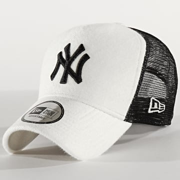 New Era - Casquette Trucker A Frame 12285345 New York Yankees Blanc