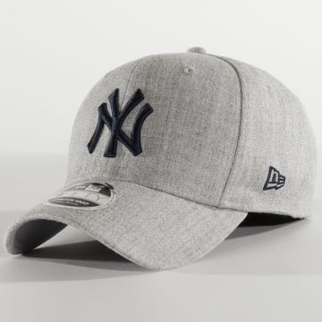 New Era - Casquette 9Fifty Stretch Snap 12285446 New York Yankees Gris Chiné