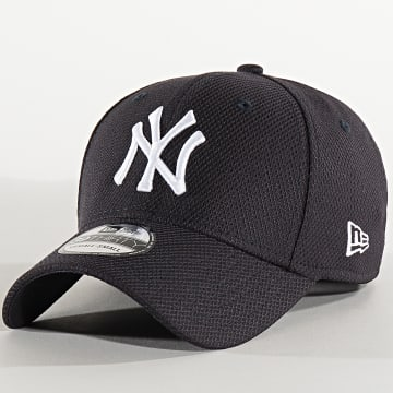 New Era - Casquette Fitted 39Thirty Diamond Era 12285524 New York Yankees Bleu Marine